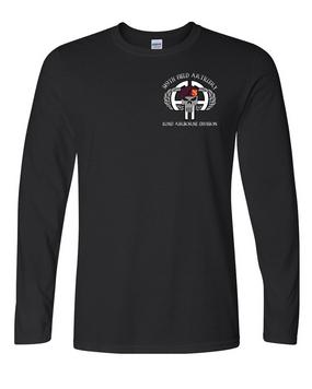 319th Airborne Field Artillery Regiment Long-Sleeve Cotton Shirt (P)