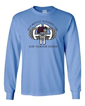 313th MI Battalion (ABN) Long-Sleeve Cotton Shirt (FULL FRONT)
