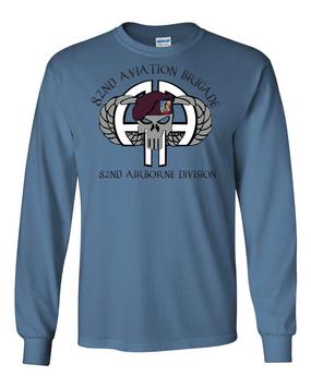 82nd Aviation Brigade Long-Sleeve Cotton Shirt (FF)