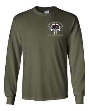 82nd Aviation Brigade Long-Sleeve Cotton Shirt (P)