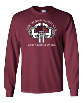 782nd Maintenance Battalion Long-Sleeve Cotton Shirt (FF)