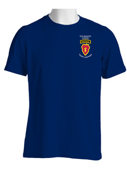 25th Infantry Division w/ Ranger Tab Cotton T-Shirt (P)