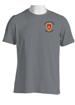 25th Infantry Division Moisture Wick Shirt (P)