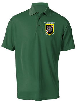 46th Special Forces Group  Embroidered Moisture Wick Shirt (Paragon)