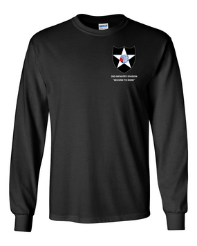 2nd Infantry Division Long-Sleeve Cotton Shirt -(P)
