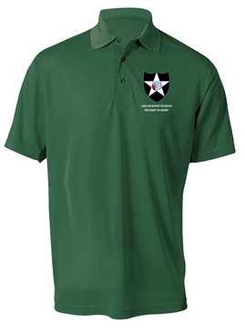 2nd Infantry Division Embroidered Moisture Wick Shirt (Paragon)