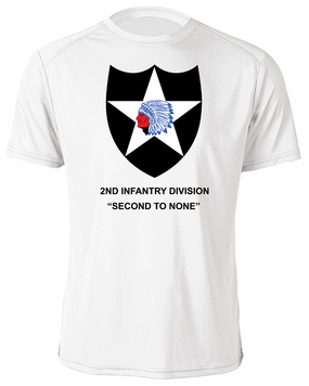 2nd Infantry Division Moisture Wick Shirt -(FF)