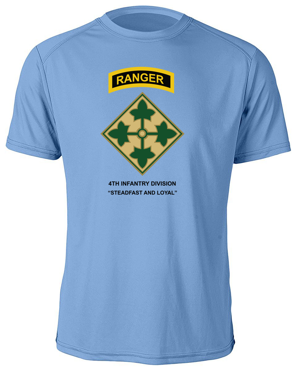 4th Infantry Division Moisture Wick Shirt