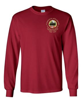 Company D 16th Armor Long-Sleeve Cotton Shirt