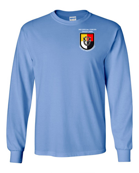 3rd Special Forces Group Long-Sleeve Cotton Shirt