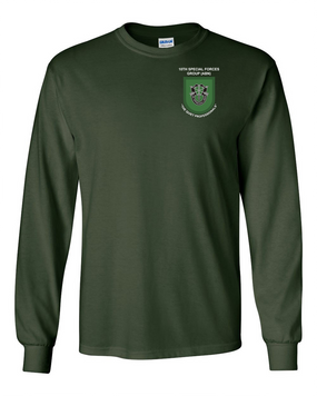 10th Special Forces Group Long-Sleeve Cotton Shirt