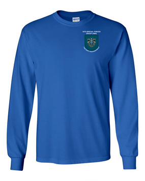 19th Special Forces Group Long-Sleeve Cotton Shirt