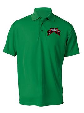 "2-75 Ranger Battalion ""Original Scroll""  Embroidered Moisture Wick Shirt (Paragon)"