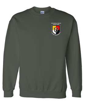 3rd Special Forces Group Embroidered Sweatshirt