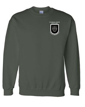 5th Special Forces Group V1 Embroidered Sweatshirt