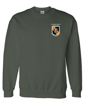 5th Special Forces Group V2 Embroidered Sweatshirt
