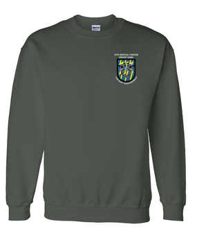 12th Special Forces Group Embroidered Sweatshirt