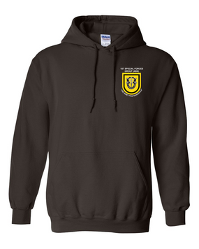 1st Special Forces Group Embroidered Hooded Sweatshirt