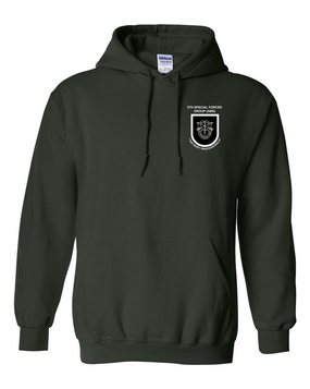 5th Special Forces Group V1  Embroidered Hooded Sweatshirt