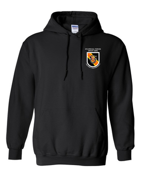 5th Special Forces Group V2  Embroidered Hooded Sweatshirt