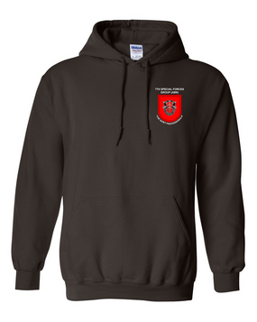 7th Special Forces Group  Embroidered Hooded Sweatshirt