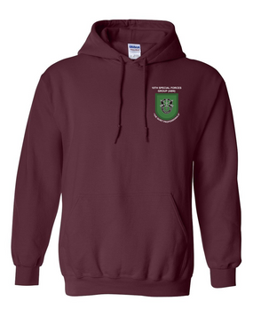 10th Special Forces Group  Embroidered Hooded Sweatshirt