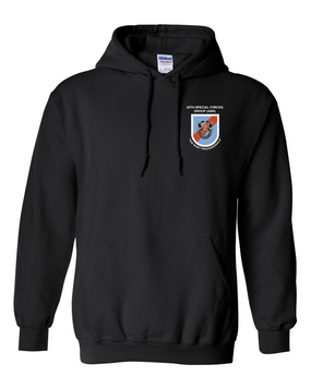 20th Special Forces Group  Embroidered Hooded Sweatshirt