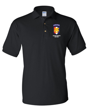 Southern European Task Force (SETAF) Embroidery Cotton Polo Shirt