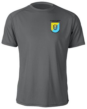 8th Special Forces Group Moisture Wick Shirt -(P)