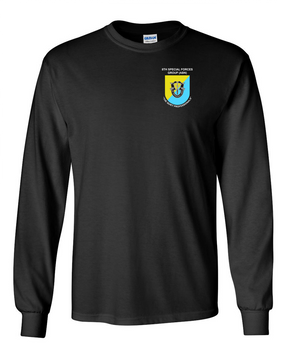 8th Special Forces Group Long-Sleeve Cotton Shirt (P)