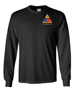 3rd Armored Division (Pocket)- Long-Sleeve Cotton Shirt