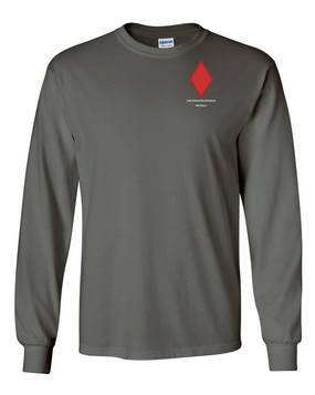 5th Infantry Division Long-Sleeve Cotton Shirt (P)