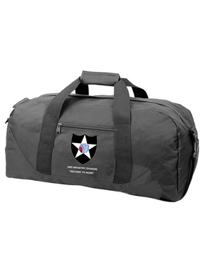 2nd Infantry Division Embroidered Duffel Bag