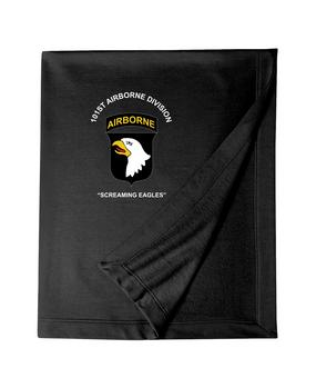 101st Airborne Division Embroidered Dryblend Stadium Blanket