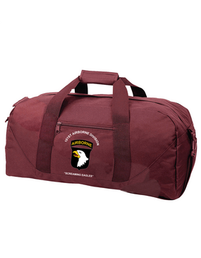 101st Airborne Division Embroidered Duffel Bag