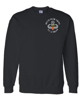 4th Brigade Combat Team (Airborne) w/ Ranger Tab Embroidered Sweatshirt