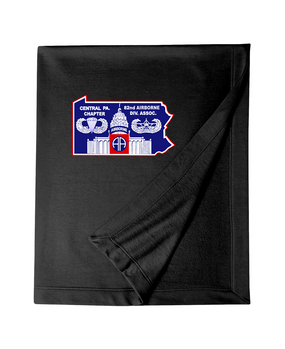Central Pennsylvania Chapter Embroidered Dryblend Stadium Blanket