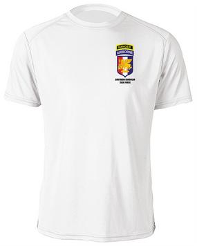 SETAF w/ Ranger Tab Moisture Wick Shirt -(Pocket)