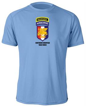 SETAF w/ Ranger Tab Moisture Wick Shirt -(Chest)