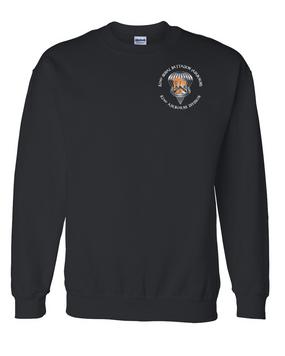 82nd Signal Battalion Embroidered Sweatshirt