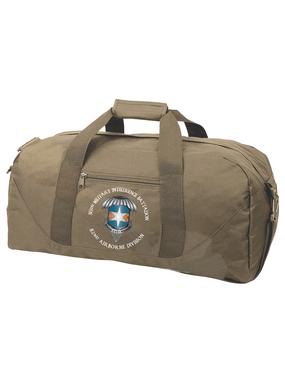 313th MI Battalion Embroidered Duffel Bag