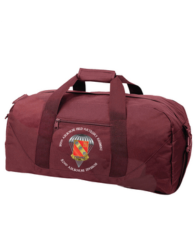 319th Field Artillery Embroidered Duffel Bag