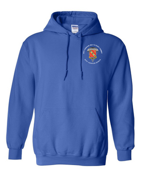 319th Field Artillery Embroidered Hooded Sweatshirt