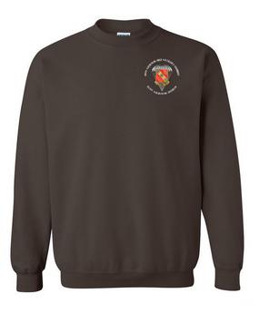 319th Field Artillery Embroidered Sweatshirt