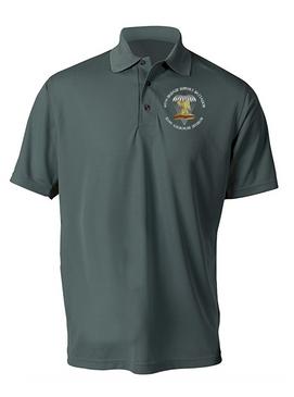 407th Brigade Support Battalion Embroidered Moisture Wick Polo