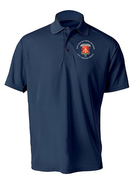 782nd Maintenance Battalion Embroidered Moisture Wick Polo