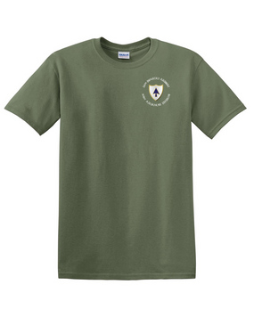 26th Infantry Regiment (C) Cotton T-Shirt (Pocket)