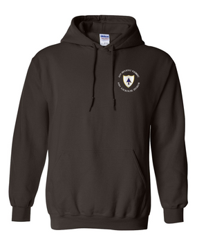 26th Infantry Regiment Embroidered Hooded Sweatshirt