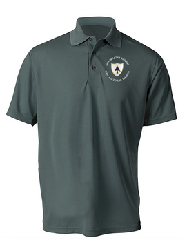 26th Infantry Regiment Embroidered Moisture Wick Polo
