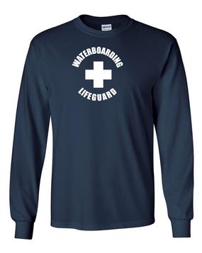 Water Boarding Lifeguard Long-Sleeve Cotton Shirt